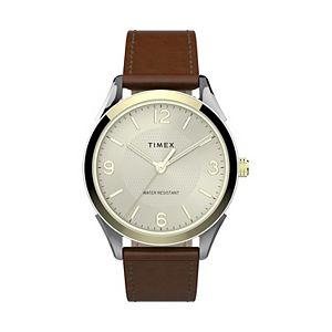 Timex Men's Briarwood Leather Watch - TW2T67000JT