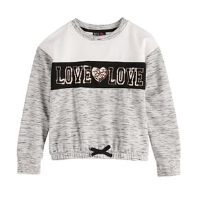 Girl's Miss Chievous Love Pullover