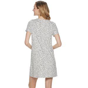 Petite Croft & Barrow® Henley Sleepshirt