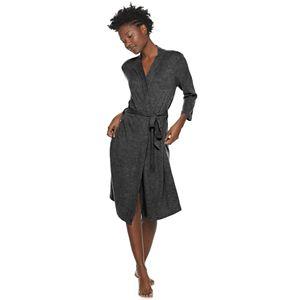 Women's SONOMA Goods for Life® Ribbed Midi Wrap Robe