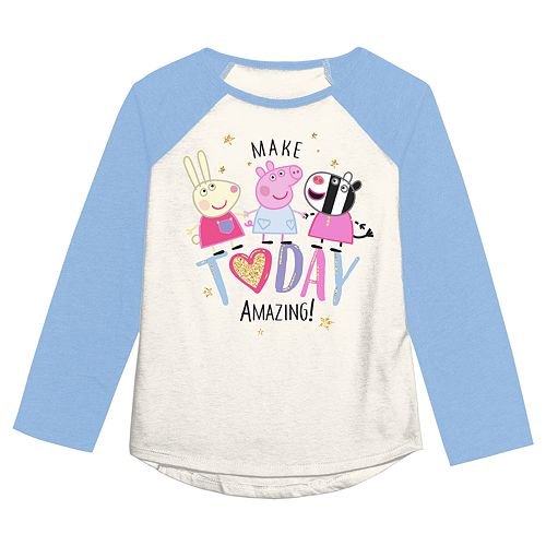"""Girls 4-12 Jumping Beans® Peppa Pig """"Make Today Amazing"""" Graphic Tee"""