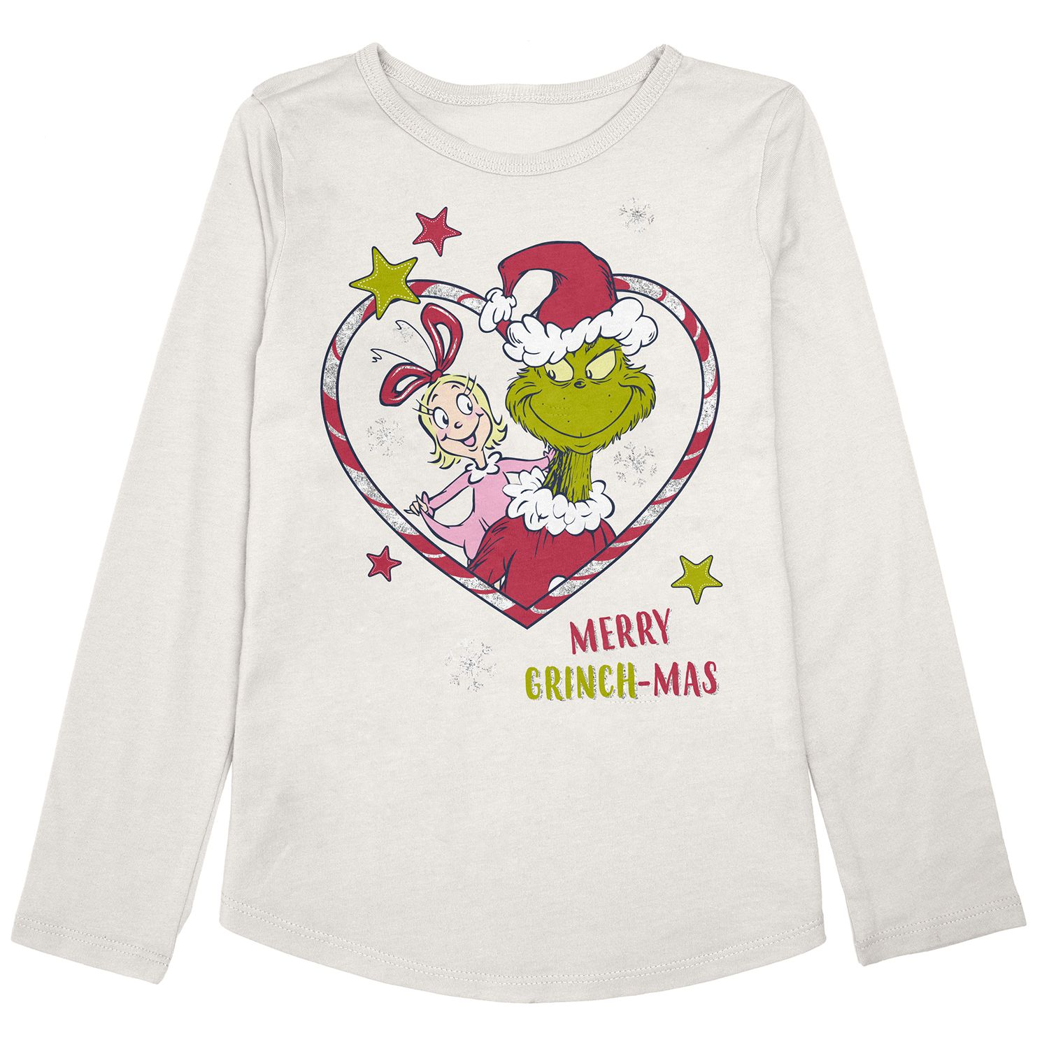 New Kids Boys Girls Casual The Grinch Cartoon T shirts Tops Clothes 4-12 Years