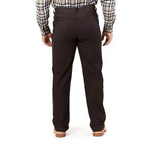 Men's Smith's Workwear Stretch Fleece-Lined Canvas 5-Pocket Pants