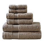 Madison Park Signature Luxor Egyptian Cotton 6-piece Bath Towel Set