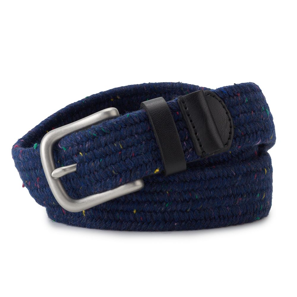 Men's SONOMA Goods for Life® Stretch Marled Web Belt