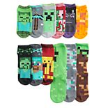 Boys 8-20 Minecraft 12 Days of Socks Set
