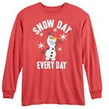 Disney's Frozen Boys 8-20 Olaf Snow Day Graphic Tee