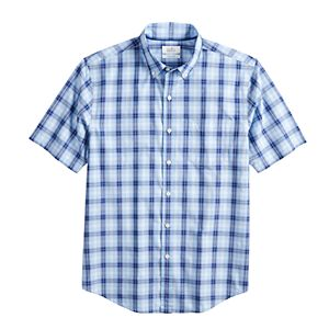 Men's Croft & Barrow® Easy-Care Poplin Button-Down Shirt