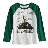 Boys 4-12 Jumping Beans® Snoopy New Adventures Long-Sleeve Tee