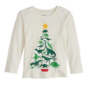 Toddler Boy Jumping Beans® Christmas Tree Long-Sleeve Tee