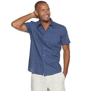 Men's Apt. 9® Patterned Button-Down Shirt