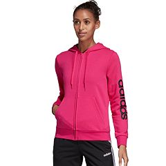 44f812c2c9f1 Sweatshirt. Women's adidas Essential Linear Full Zip Hoodie