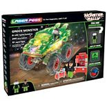Laser Pegs Green Monster Light Up Building Kit (290 pieces)