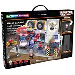 Laser Pegs Rally Garage Light Up Building Kit (600 pieces)