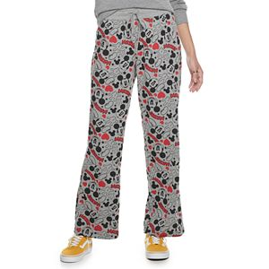 Juniors' Disney Mickey Mouse Lounge Pants