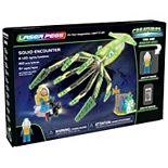 Laser Pegs Squid Encounter Light Up Building Kit (160 pieces)