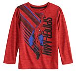 Boys' 4-12 Jumping Beans® Spiderman Swinging Active Long-Sleeve Tee