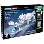 Laser Pegs Sabertooth Attack Light Up Building Kit (230 pieces)