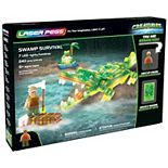 Laser Pegs Swamp Survival Light Up Building Kit (240 pieces)