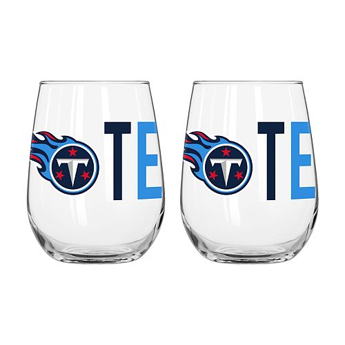 Boelter Tennessee Titans Stemless Wine Glass Set