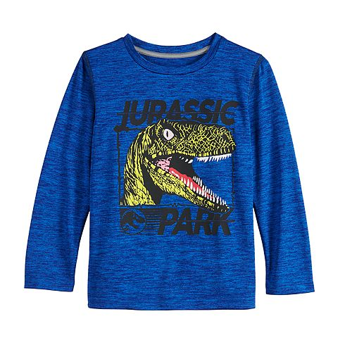 Boys' 4-12 Jumping Beans® Jurassic Park Screamer Active Long-Sleeve Tee