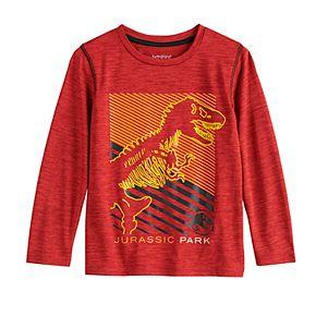 Boys' 4-12 Jumping Beans Jurassic Park X-Ray Active Long-Sleeve Tee