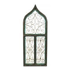 Rustic Arrow Aladin T Window Wall Art