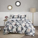 Madison Park Kalina Cotton Printed Reversible Duvet Cover Set