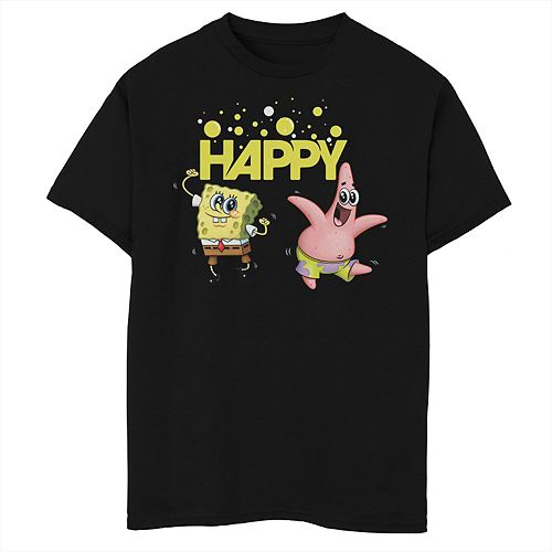 Boys 8-20 SpongeBob SquarePants Patrick Happy Short Sleeve Tee