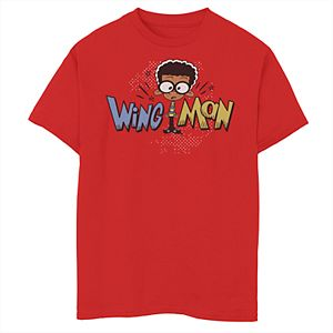 Boys 8-20 The Loud House Wing Man Tee