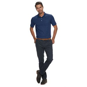 Men's Croft & Barrow® Easy-Care Extra-Soft Pocket Polo in Regular and Slim Fit