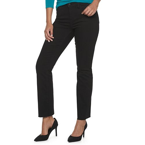 Women's Jennifer Lopez Flawless Sculpt Straight Leg Jeans