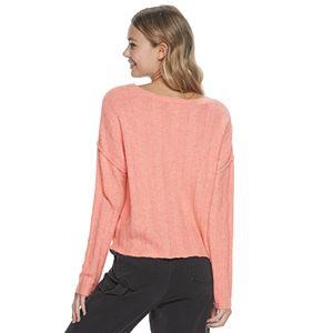 Juniors' SO® V-Neck Pullover Sweater
