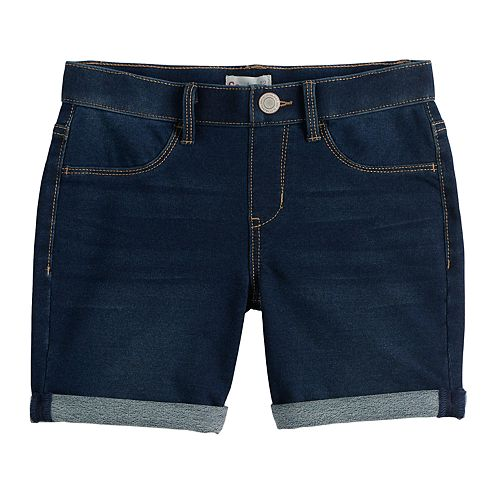 Girls 4-20 & Plus Size SO® Midi Jean Shorts