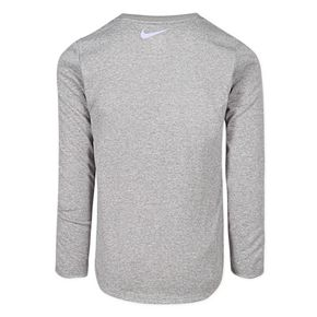 """Toddler Girl Nike Dri-FIT Long Sleeve """"There Is No Finish Line"""" Tee"""
