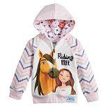 """Dreamworks Spirit Toddler Girl """"Riding Free"""" Hoodie"""