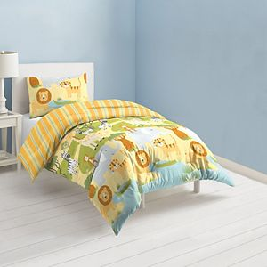 Dream Factory Printed Comforter Set