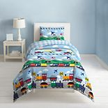 Dream Factory Printed Comforter Set