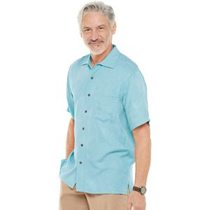 Men's Batik Bay Rayon Jacquard Shirt