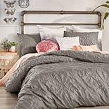 Peri Velvet Tile Comforter Set