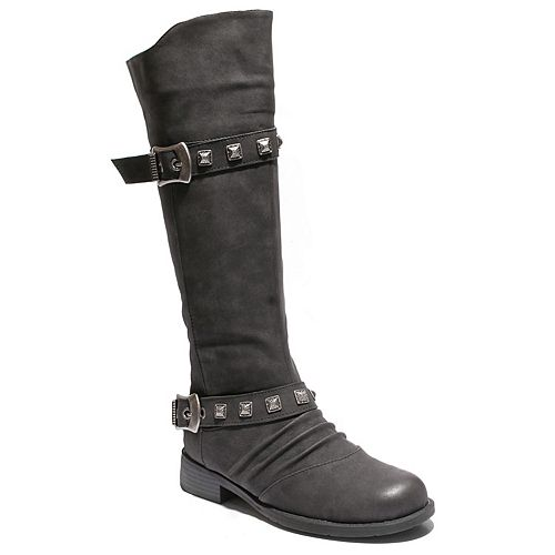 Two Lips Too Too Justle Women's Riding Boots