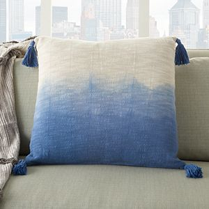 Mina Victory Life Styles Ombre Tassels Throw Pillow