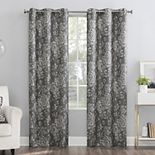 The Big One® 2-pack Dabney Floral Grommet Window Curtain Set
