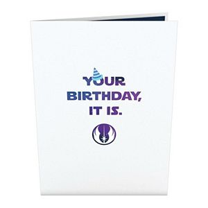 "Lovepop ""Star Wars Yoda Birthday"" Greeting Card"