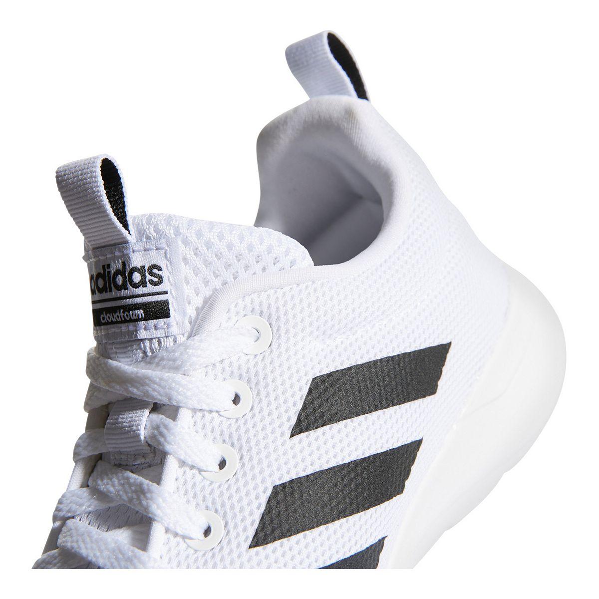 adidas Lite Racer CLN Women's Sneakers White Gray nYjuD
