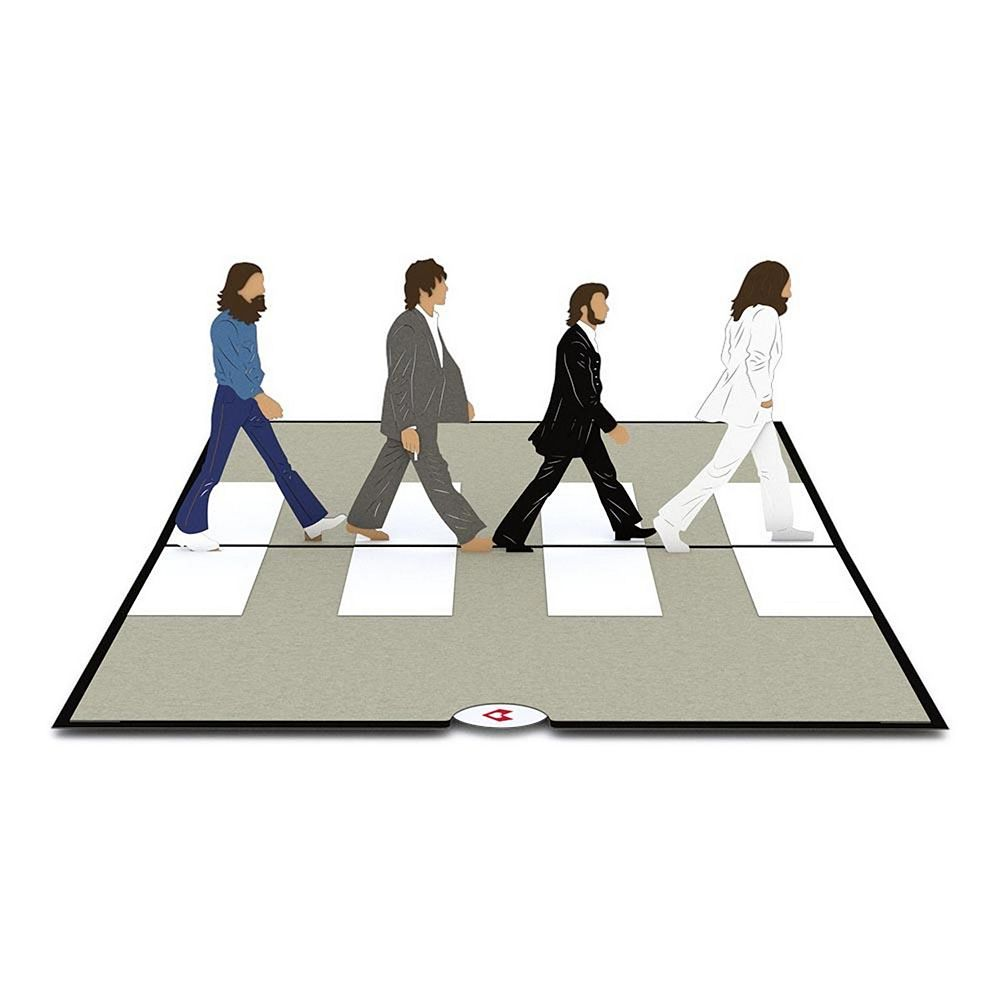 """Lovepop """"The Beatles Abbey Road"""" Greeting Card"""