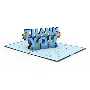 "Lovepop ""Confetti Thank You"" Greeting Card"
