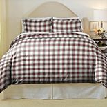 Pointhaven Manchester Cotton Flannel Duvet Set
