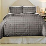Pointhaven Derby Cotton Flannel Duvet Set