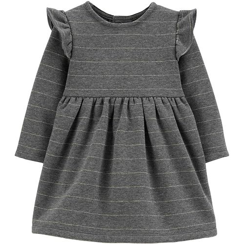 Baby Girl Carter's Bow Fleece Holiday Dress